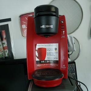 Red Mr Coffee Keurig